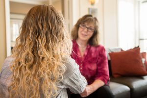 Patricia Joy - Personal Coaching with Client
