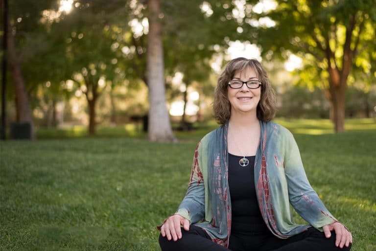 Restorative Yoga in the park with Patricia Joy